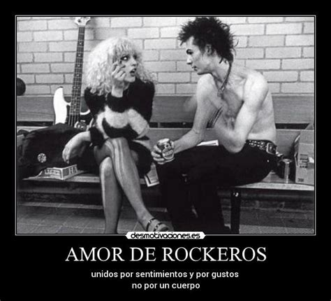 imagenes de amor rockeras amor de rockeros desmotivaciones