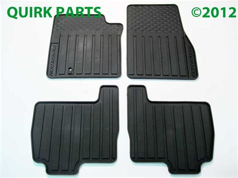 2005 Ford Expedition Floor Mats by 2003 2010 Ford Expedition Floor Mats All Weather Black Set Of 4 Genuine Oem
