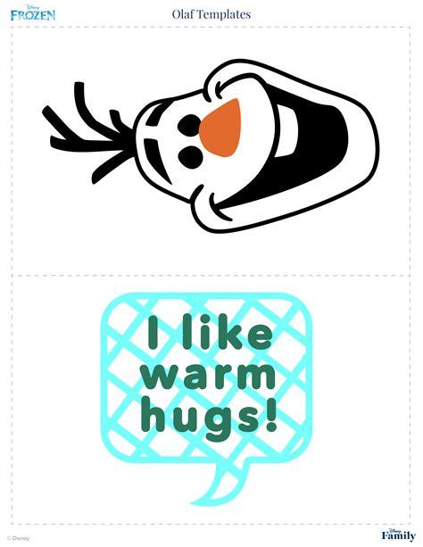 olaf template printable olaf templates disney family