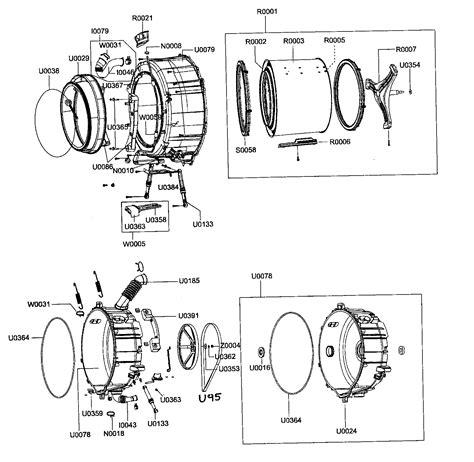samsung washer parts drum assy diagram parts list for model wf203ansxax samsung parts washer parts searspartsdirect
