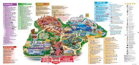 california adventure park map disney s california adventure park magical distractions