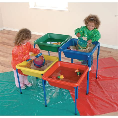 adjustable sand  water table tub green