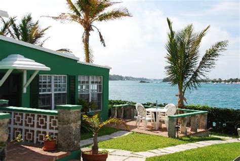 Cottages In Bermuda by A View During Breakfast From Sea Song S Patio Picture Of