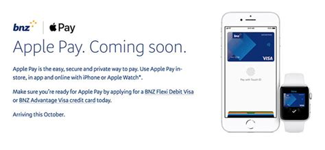 bnz  bank  support apple pay   zealand