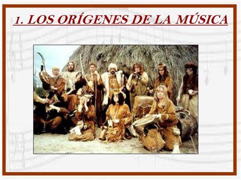 los origenes de la 8474905265 historia de la musica