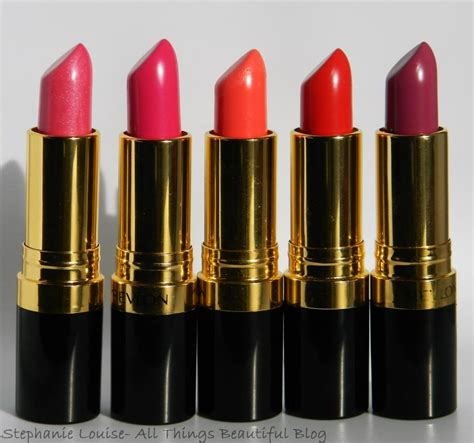 Lipstik Revlon Review revlon lustrous shine lipsticks review lip swatches