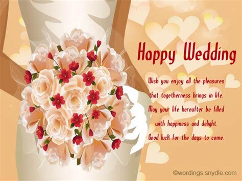 Wedding Wishes With Photos by Wedding Wishes Wordings For Friends Www Pixshark