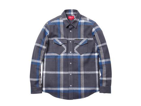 Jaket Sweater Hoodie Supreme Ch supreme heavyweight box plaid flannel shirt ug shaft