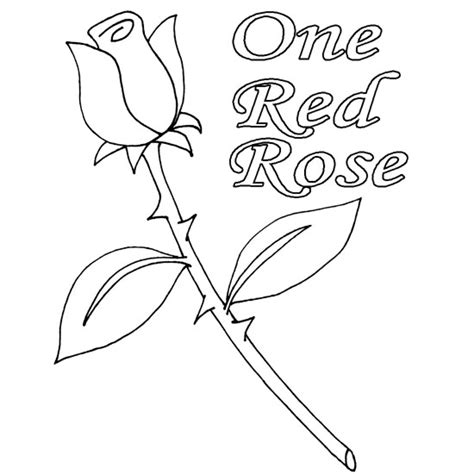 coloring pages of red roses red rose coloring download red rose coloring