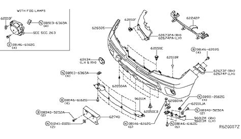 nissan frontier parts diagram front bumper for 2015 nissan frontier nissan parts deal