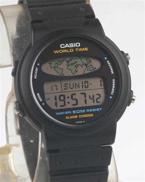 Casio W 60u World Time Vintage casio bangkokjunkman