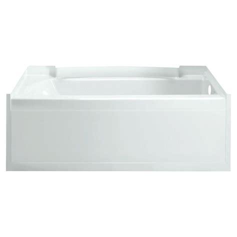 sterling ensemble 5 ft right drain soaking tub in white