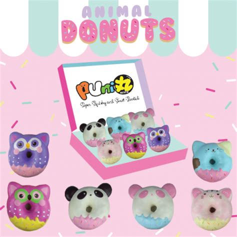 Squishy Cafe Animal Donut Cafe Animal Donut rising licensed food squishies buy now