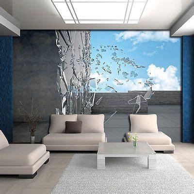 Papier Peint Wars 2804 poster tapeten fototapete bild himmel glas blau wand grau