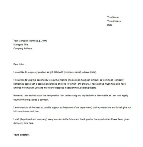 word form letter template simple resignation letter template 15 free word excel