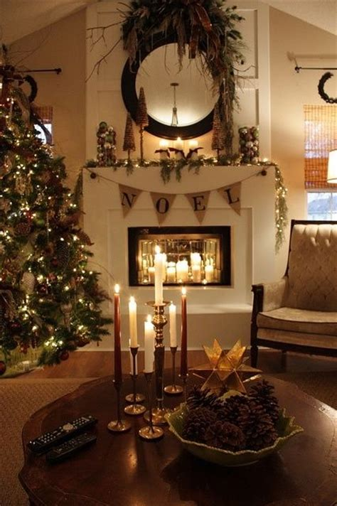 beautiful christmas mantle pictures   images  facebook tumblr pinterest  twitter