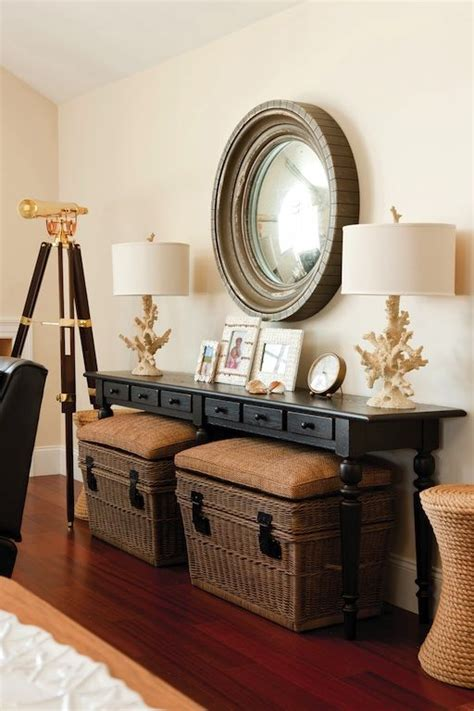 table behind sofa against wall adding a console table in your living room whether its