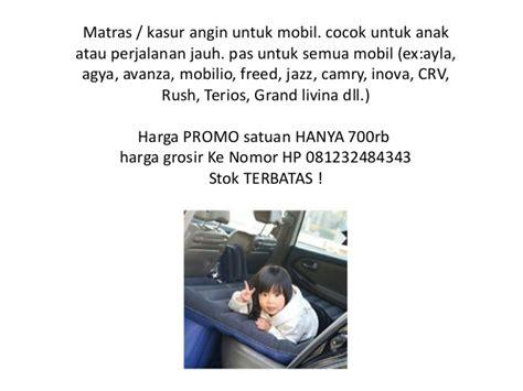 Kasur Mobil Agya kasur mobil portable 081232484343