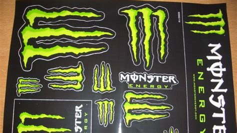 Monster Cars Aufkleber by How To Get Free Monster Energy Stickers Youtube