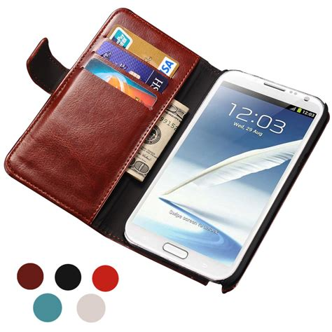 New Flip Cover Wallet Samsung Note 2 3 4 5 S7 Edge S7 Flat S8 aliexpress buy note 2 luxury wallet style pu leather for samsung galaxy note 2 n7100