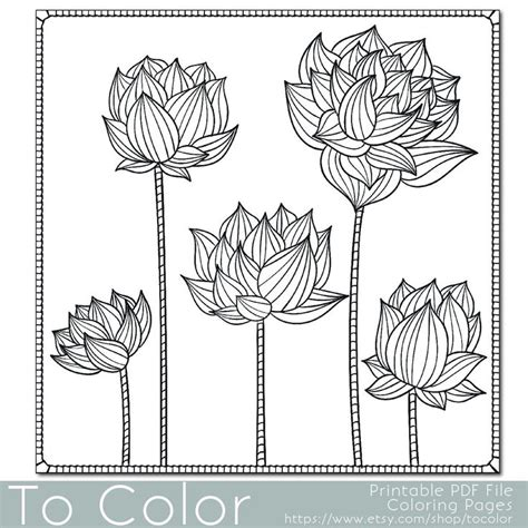 flower coloring pages for adults pdf 101 best coloring pages images on pinterest coloring