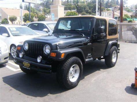 sport utility  jeep wrangler sport   door  los