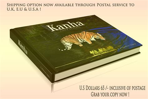Tiger Transfer Tables by Coffee Table Book On Kanha Tiger Reserve For Residents Of European Union United Kingdom The