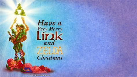 zelda wallpaper christmas link and zelda christmas desktop wallpaper by nagymarci on