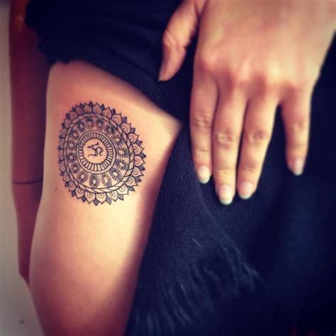 30 Religious Om Tattoo Designs Golfian Com Lotus And Om Tattoos