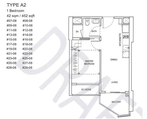 Citylights Condo Floor Plan by 100 Bugis Junction Floor Plan Citygate Duo