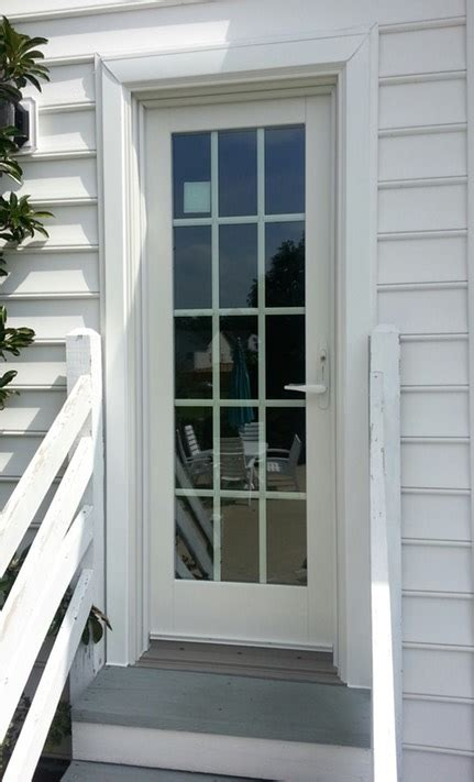 Andersen Exterior Doors Andersen Frenchwood Single Entry Door Doormasters Inc