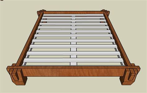 japanese platform bed frame nice knock down bed frame carpentry projects pinterest