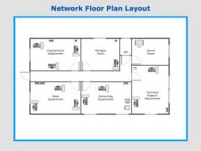 Create Floor Plan Network Layout Floor Plans Design Elements Network