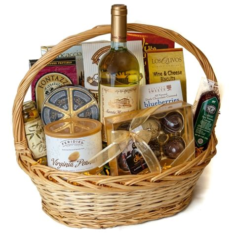 chocolate gift baskets deluxe wine and chocolate gift basket