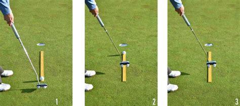putting swing path the yardstick putting drill golf tips magazine
