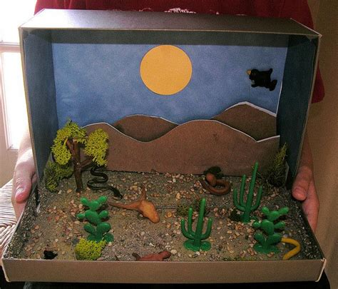 shoe box book report ideas shoe box diorama made with some sand found at hobby