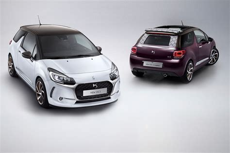 new citroen new not a citroen ds3 and ds3 cabrio revealed for 2016 by