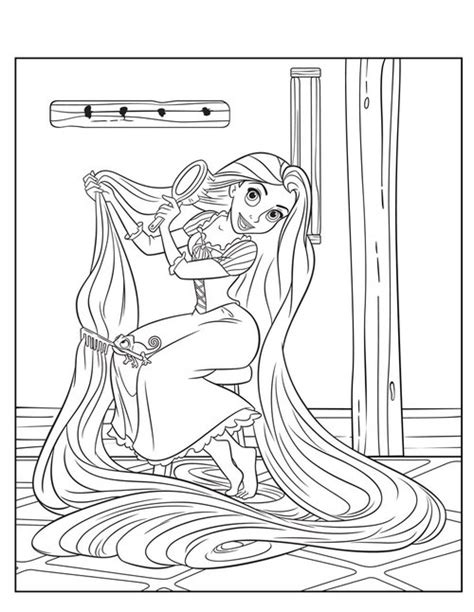 printable coloring pages rapunzel free printable tangled rapunzel coloring pages gt gt disney