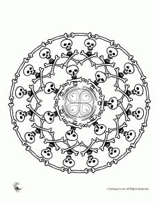 halloween coloring pages intricate for teens archives woo jr kids activities