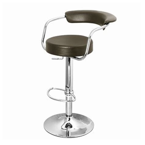 chrome bar stools with back brown circular chrome bar stool with back 163 74 99