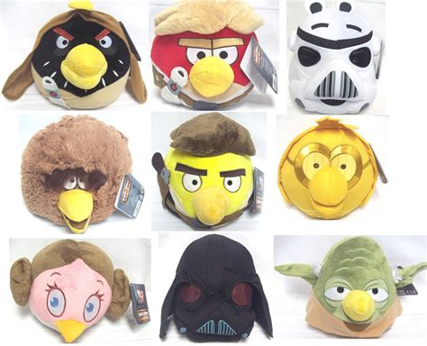 Angry Bird Starwars Limited Edition angry birds wars 8 inch soft plush special edition teddy collection ebay