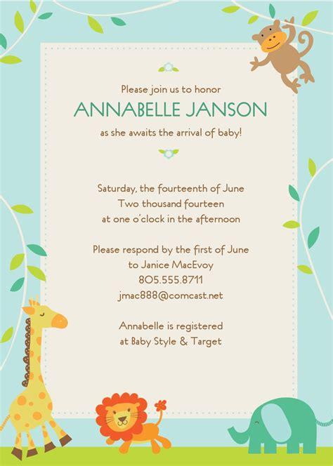 Editable Print Baby Shower Invitations