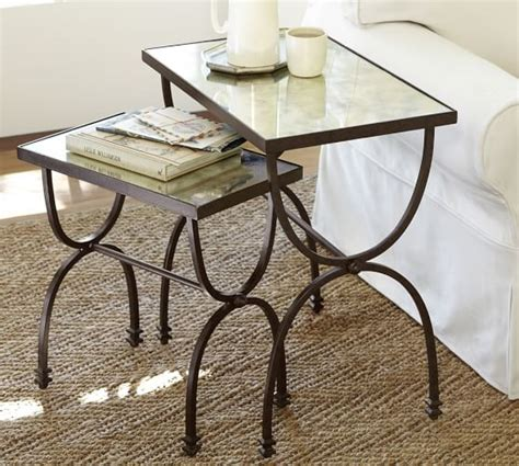 Nesting Tables Pottery Barn by Willow Nesting Tables Set Of 2 Pottery Barn