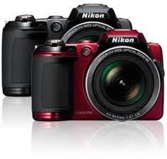 Kamera Nikon Coolpix L120 Nikon Coolpix L120 Digitalkamera 3 Zoll Schwarz De Kamera