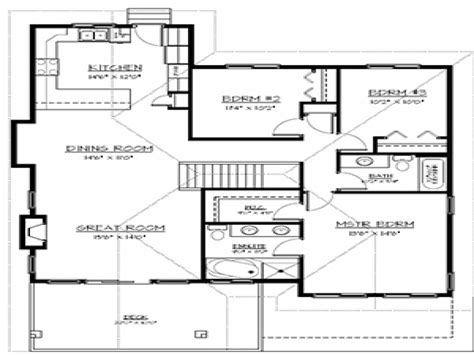 House Plans With Finished Basement Finished Basement Floor Plans Finished Basement Gallery Basement Entry House Plans Treesranch