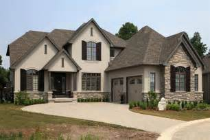 rock stucco exterior home bridlewood homes i m so in