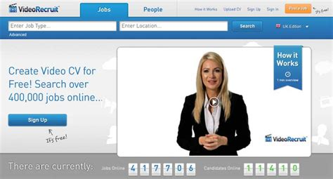 Upload Resume Online For Jobs by Top 5 Video Resume Websites For Online Job Seekers