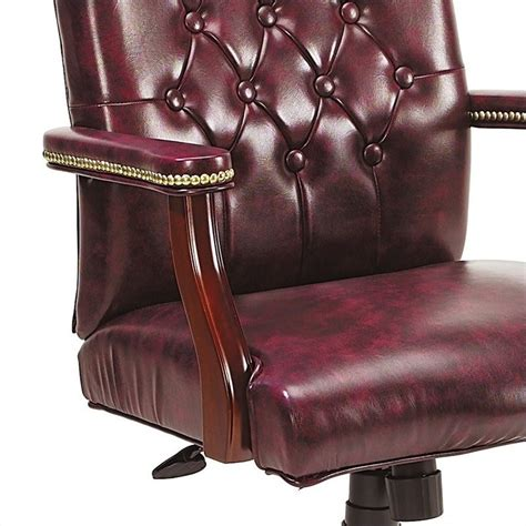traditional style office chairs traditional tufted style office chair b905