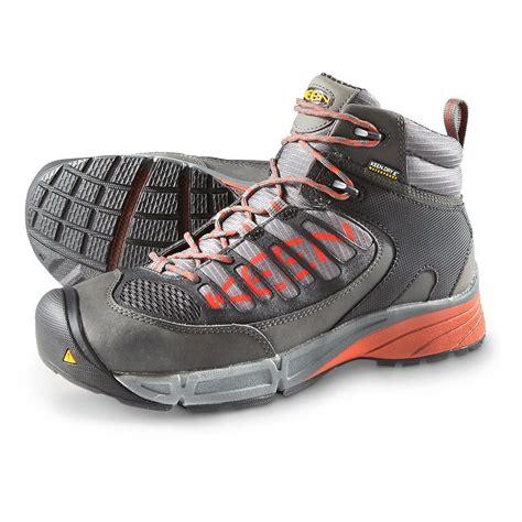 keen utility boots keen s utility mid waterproof steel toe work