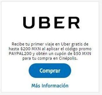 codigo promocional telepizza junio 2016 30 en tu pedido uber primer viaje gratis de 200 con paypal cupon de